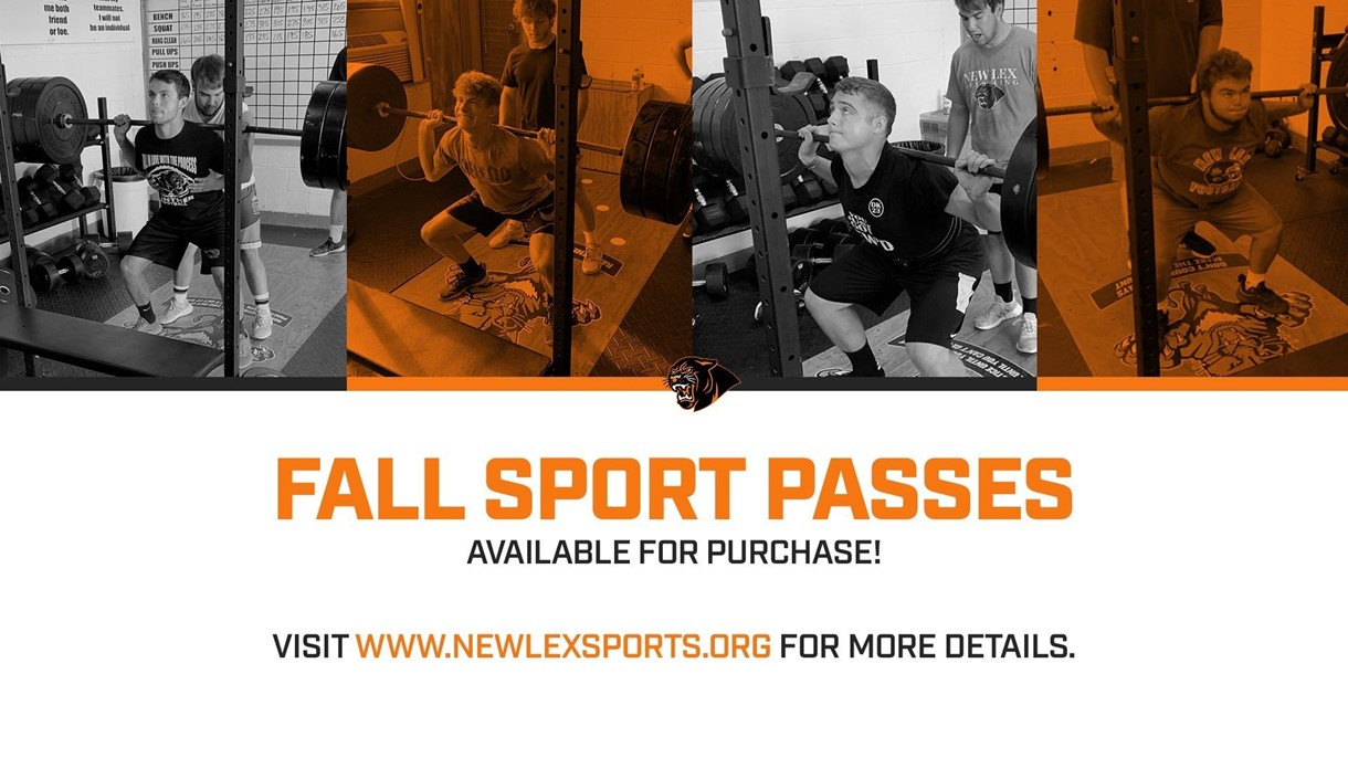 Fall sport passes for sale