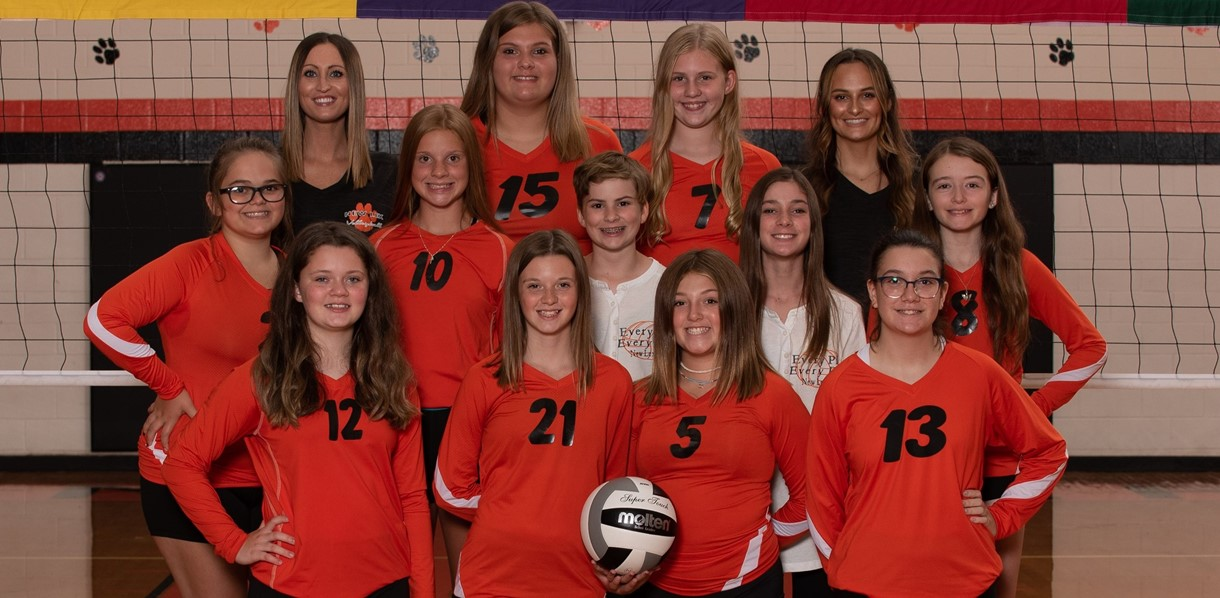 2021 7th Grade Volleyball